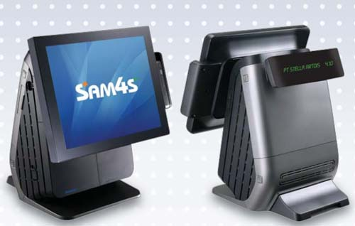 صندوق فروشگاهی sam4s spt-7500-نمای
