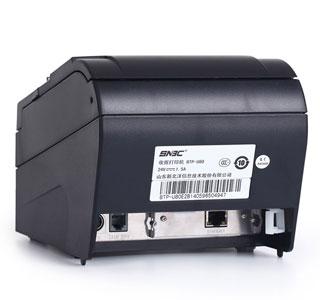 پورت های ورودی دستگاه فیش پرینتر U80