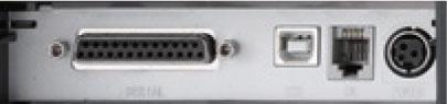 پورت های ورودی دستگاه فیش پرینتر 330